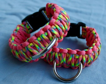 Pink and Rainbow Ankle Cuffs