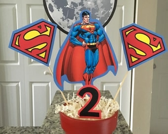 Superman centerpiece