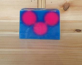 Bubblegum Handpoured Soap Bar - SLS free