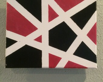 Star geometric design painting