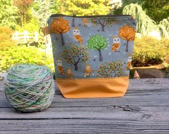 Hoot Hoot! - Autumn Owls Project Bag