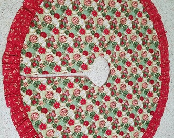 Ornaments Red Christmas tree Skirt
