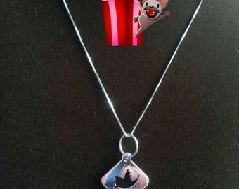 Pendant TWIT!  Pendant, necklace made in italy