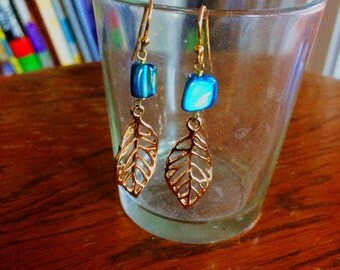 Baby Leaf Earrings