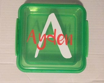 Personalized Sandwich Container