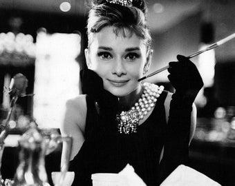 Audrey Hepburn Breakfast At Tiffany's 8 x 10 photo