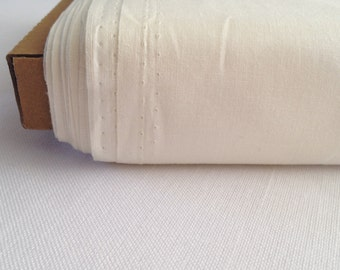 Cream cotton Solid - Sew Easy