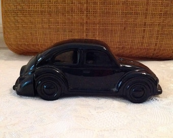 Vintage Volkswagon Bug Avon Collectible Car Calogne Bottle