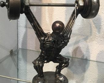 Athletic Metal Man