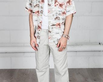 Vintage Palm Trees Hawaai Shirt