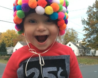 DELIVERY BEFORE HALLOWEEN Bubblegum Machine Costume - bubble gum - Toddler Infant - Custom Halloween costume - Toddler Halloween Costume -