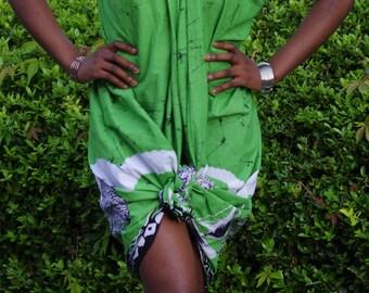 Lime Green Sarong