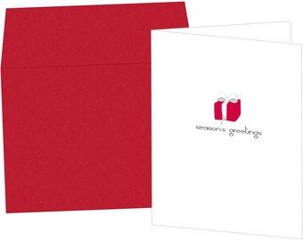Holiday Gift Greeting Card