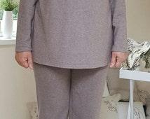 Plus Size Top / Plus Size Clothing / Long Sleeve Top / L,XL,XXL top