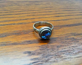 Abalone Shell Ring - Size 7