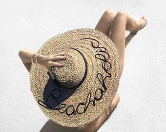 Beachaholic - Handmade Beach Hat