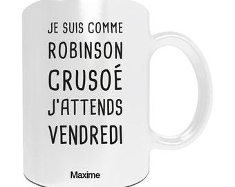 Personalize mug I Robinson
