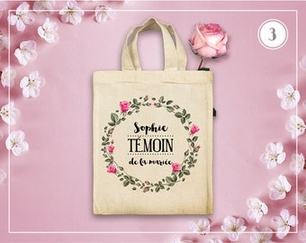 Small Tote Bag witness to marriage - 5 models