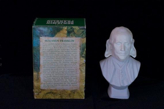 Avon Benjamin Franklin, Aftershave, 6 oz, Original Box,