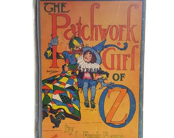 The Patchwork Girl of Oz - 1913 Illustrated Edition - Book by L. Frank Baum 17.12
