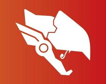 Overwatch Pharah Decal Sticker