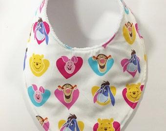 78. Baby Bandana Dribble Bib Pooh and Friends Teething Bib