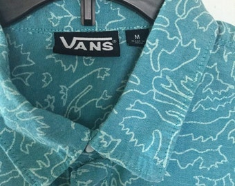 Vintage Vans Button Up
