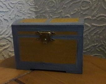 Gold Treasure box