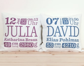 Personlaisiertes Baby Pillow with Name