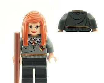 Custom Designed Minifigure - Ginny Weasley Printed On LEGO Parts