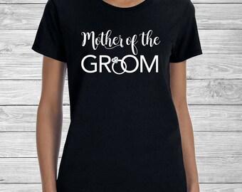 Mother Of The Groom Crew Tee