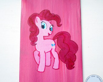 Pinkie Pie canvas