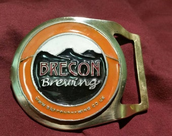 Brecon Brewing Limited Edition Belt Buckle.
