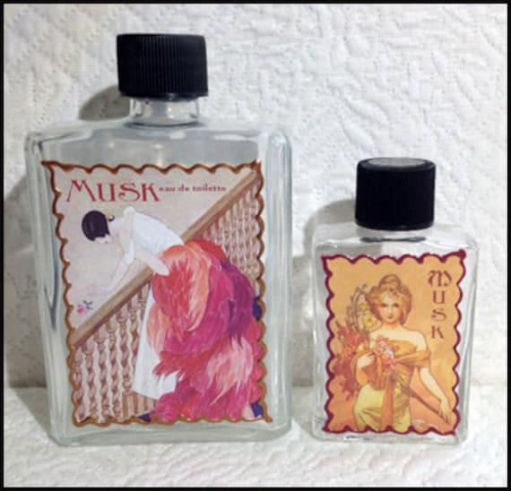 Musk Perfume Water - eau de toilette - After Bath Splash