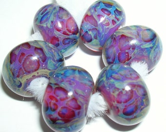 Beau Hawn Lampwork Boro GLASSADDICT Beads borosilicate beads SUNSET
