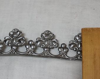 metal banding made in USA crown and tiara supply feminine fleur di lis