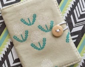 Dandelion Print - Lovely Small Wallet - Business Card Holder / ID Case / Photo Holder
