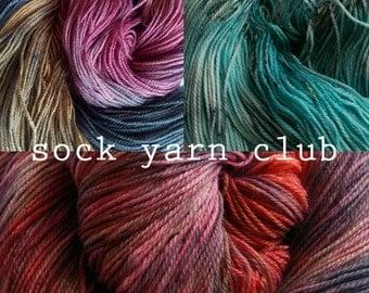 Sock Yarn Club - 1 month subscription