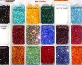 US Shipper 3MM Xilion 5328 Swarovski Crystal Bicone Beads, Authorized Reseller for Swarovski Elements, Mix your Colors