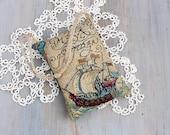 Old World Map Tapestry Lavender Sachet, Sailing Theme