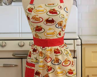 Retro Apron Slice of Pie - CHLOE