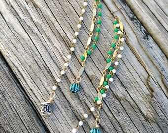 Tribal Love Vintage Dangle Earrings