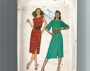 Butterick Misses' Dress and Sash Pattern 6583