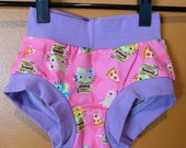 Girls Undies Briefs 4 Hello Kitty Ninja Turtles
