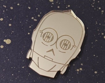C3PO Brooch (or Magnet)