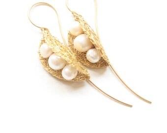 White Pearl Golden Pea Pods