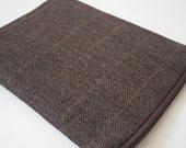 "Water resistant iPad Pro 12.9"" Case, iPad Pro 9.7"" Sleeve, iPad pro Cover - Padded - Herringbone Wool"