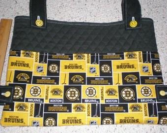 Boston Bruins Hockey Walker Bag Tote