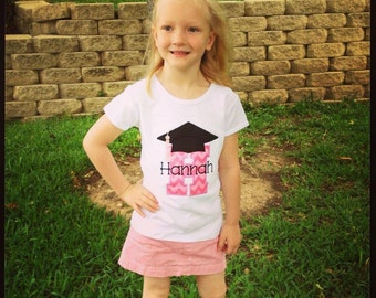 Preschool Kinder Graduation Personalized Tshirt, Preschool Graduation Tshirt, Kinder Graduation Tee, PreK Graduation Shirt