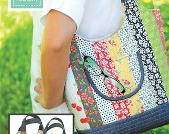 Feed Sacks bag pattern from Fig Tree and Co. - jelly roll friendly